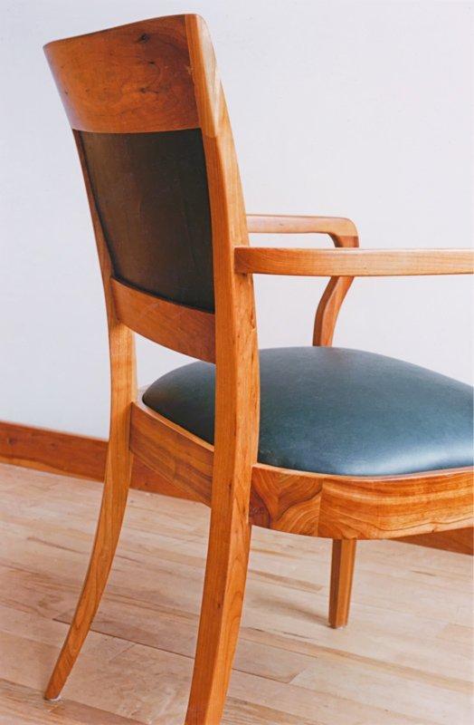 Den Arm Chair in Cherry