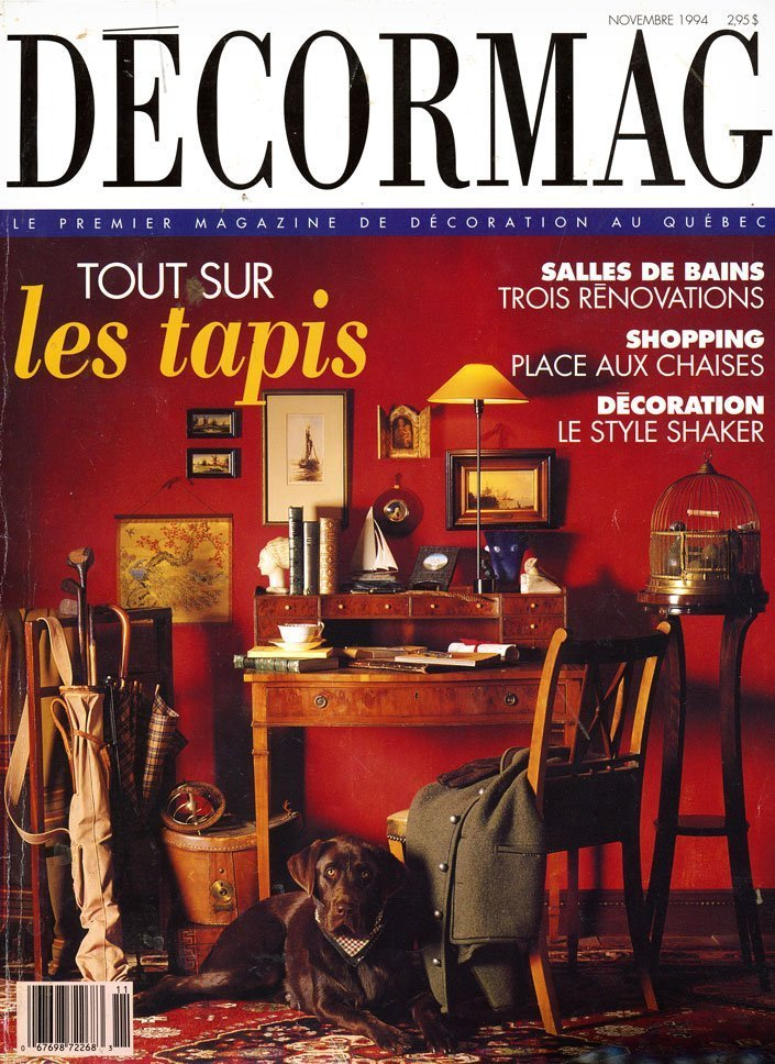 Decormag - November 1994 - Cover Page