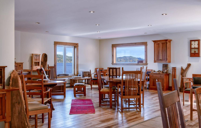 Gary Bursey Furniture - Interior of the Showroom
