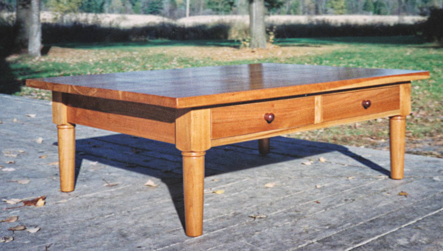 Coffee Table in Cherry