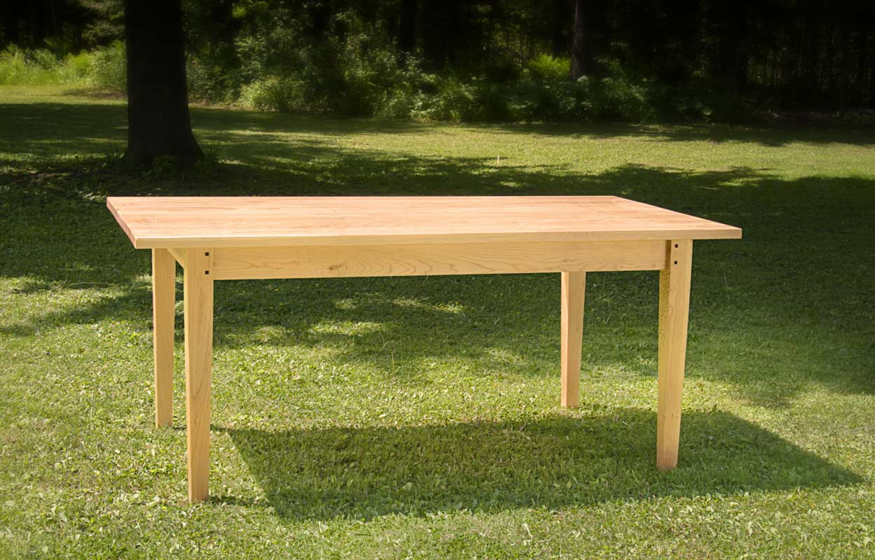 Dining Extension Table in Cherry - without extensions