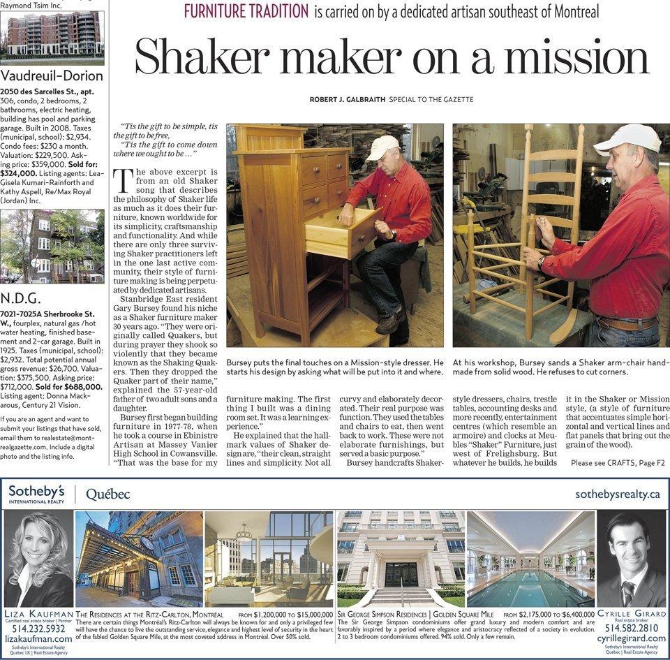 The Gazette, December 31 2010, HomeFront F-1 Lower part